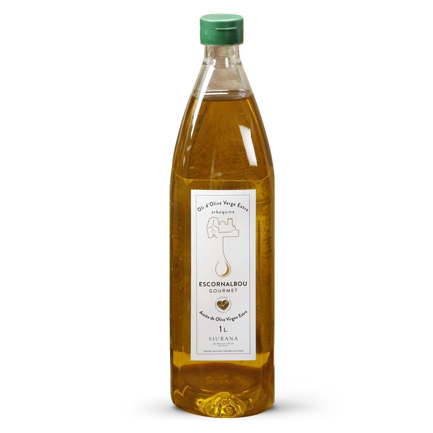 Comprar 1L Aceite De Oliva Virgen Extra 100% Arbequina - Botella PET | Escornalbou Gourmet
