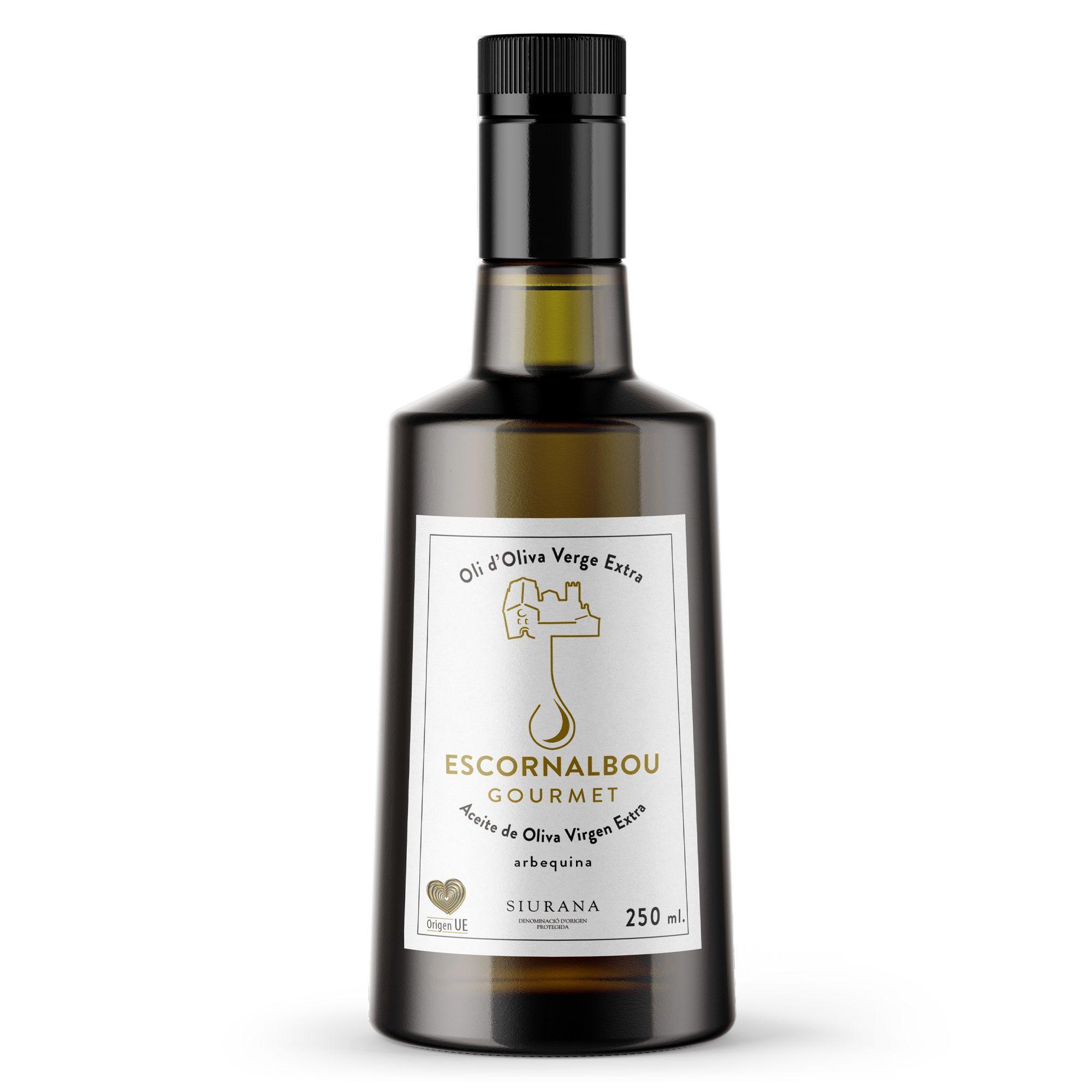 Comprar 250 ml Aceite De Oliva Virgen Extra 100% Arbequina – Botella De Cristal. AOVE con tapón irrellenable apto para restaurantes y hoteles. Sorprende a tus clientes con este AOVE Premium de auténtica calidad Gourmet. Producto con propiedades cardiosaludables.