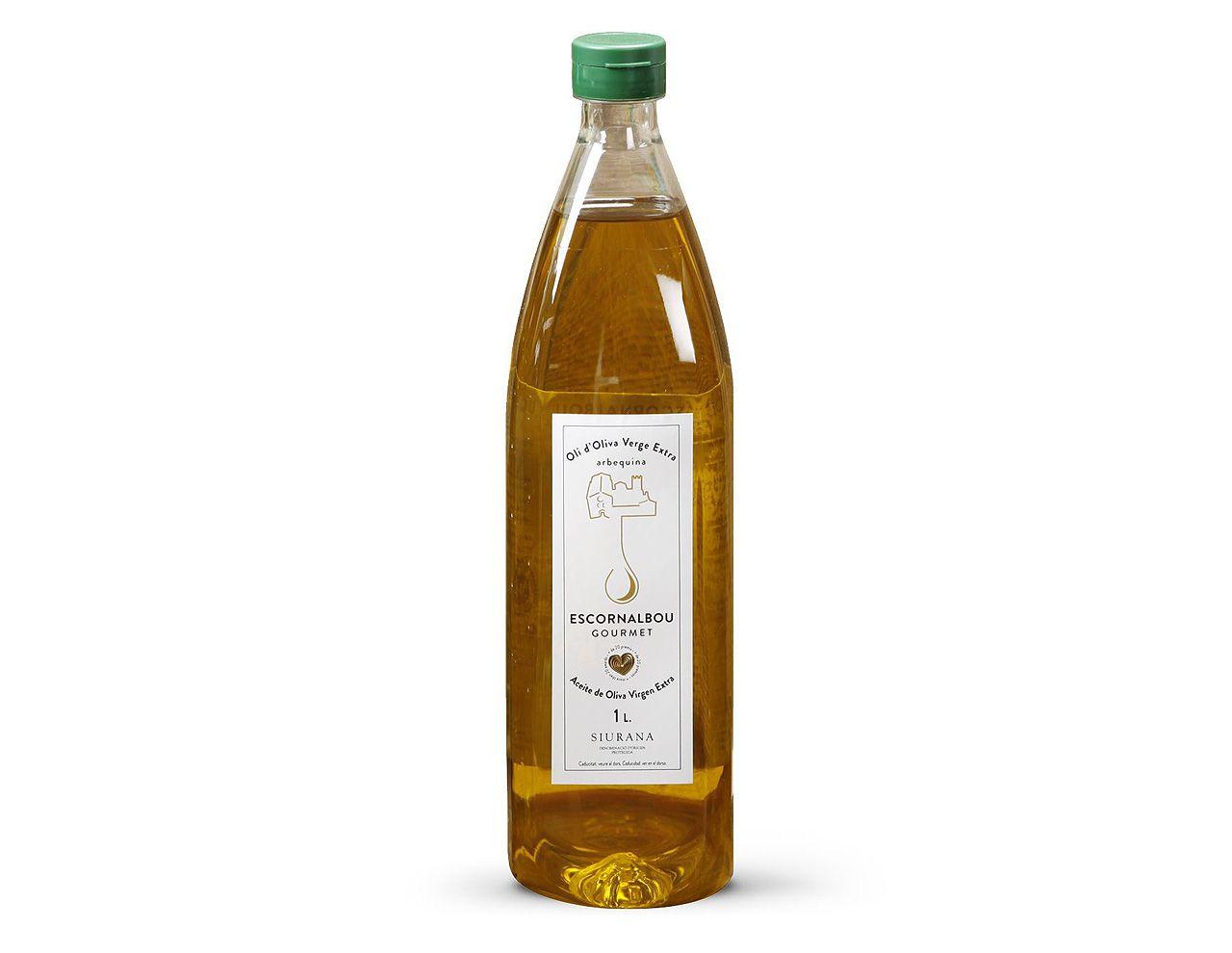 1L Aceite De Oliva Virgen Extra Escornalbou Gourmet – Botella PET
