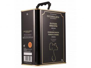 ESCORNALBOU-GOURMET-LATA-INOX-2L-ACEITE-DE-OLIVA-VIRGEN-EXTRA-ARBEQUINA